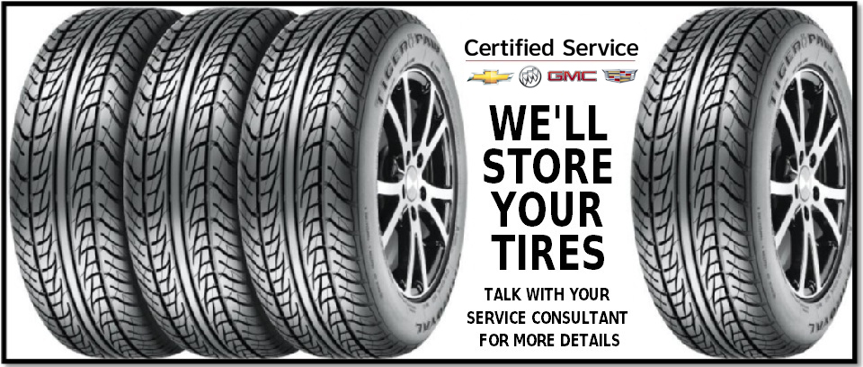 We'll Store your Tires